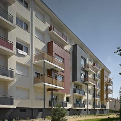 Réhabilitation de 142 logements