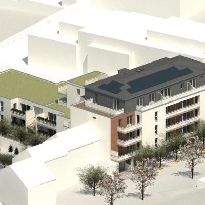 Construction de 36 logements et local d'activité