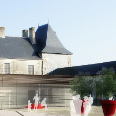 Réhabilitation du Château + Bibliothèque