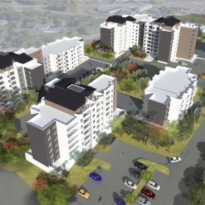 Réhabilitation de 283 logements